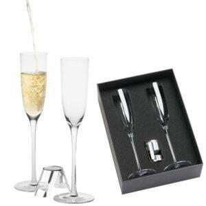 Sparkling Wine Glass Gift Set