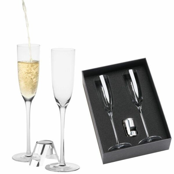 Sparkling Wine Glass Gift Set 1