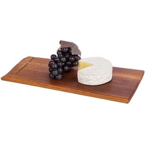 wine barrell cheeseboard