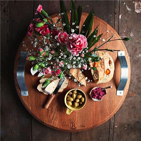 wine barrell platter 2