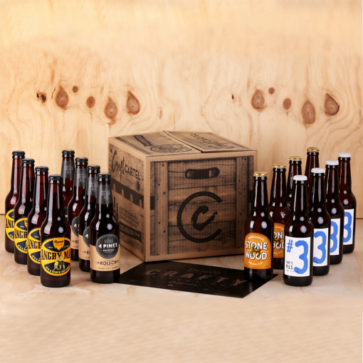 Craft Cartel Australian Craft Beer Box LR