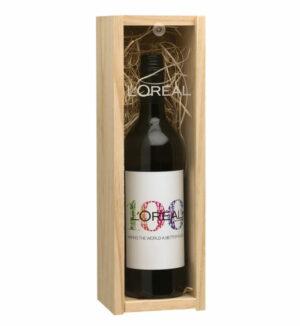 Custom Wine with Timber Box