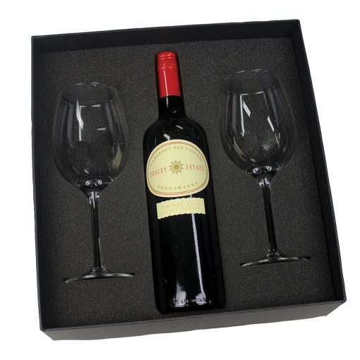 Wine Box with foam insert