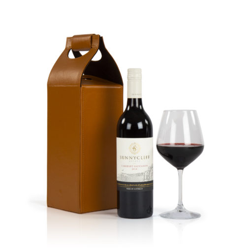 Luxurious Leather Wine Gift