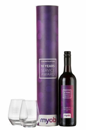 Glass & Wine Gift Set