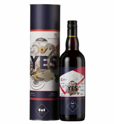 Custom Label Wine and Wine Tube 3