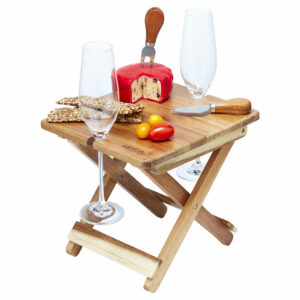 Acacia Foldable Cheese & Wine Board