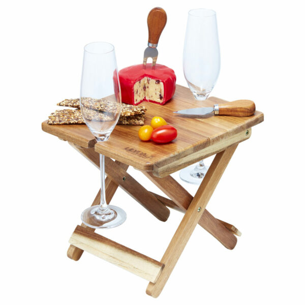 Acacia Foldable Cheese & Wine Board 1