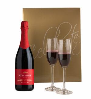 Bleasdale Sparkling Shiraz Gift Set