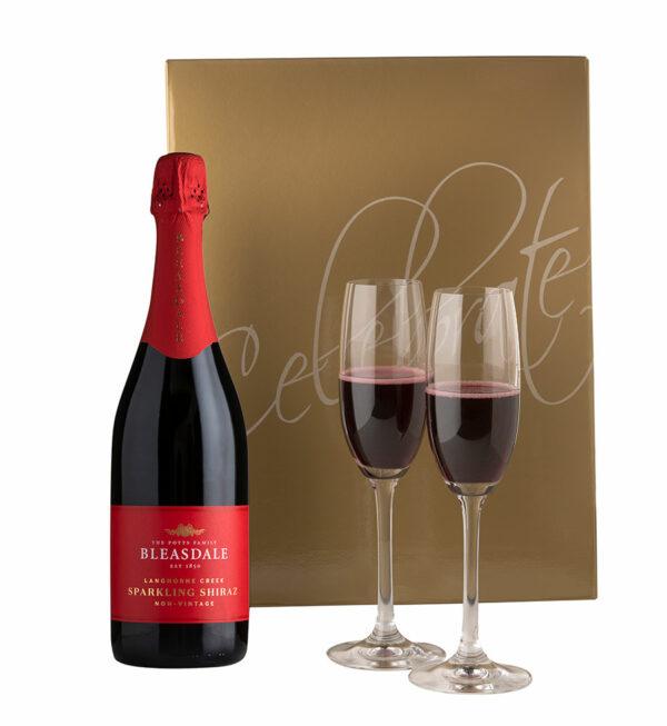Bleasdale Sparkling Shiraz Gift Set 1