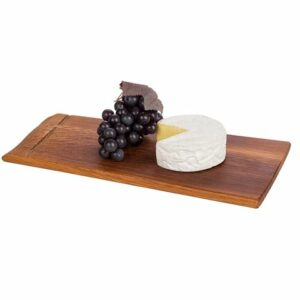 Serving Board Made From Aged Wine Barrell