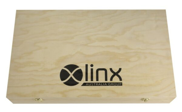 Six Bottle Wine Box With Hinged Lid $49 1