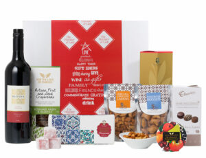 Red Wine & Gourmet Goodies $89