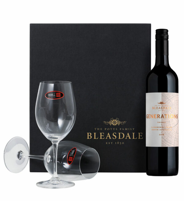 Bleasdale Premium Gift Set with Riedel Glasses 1