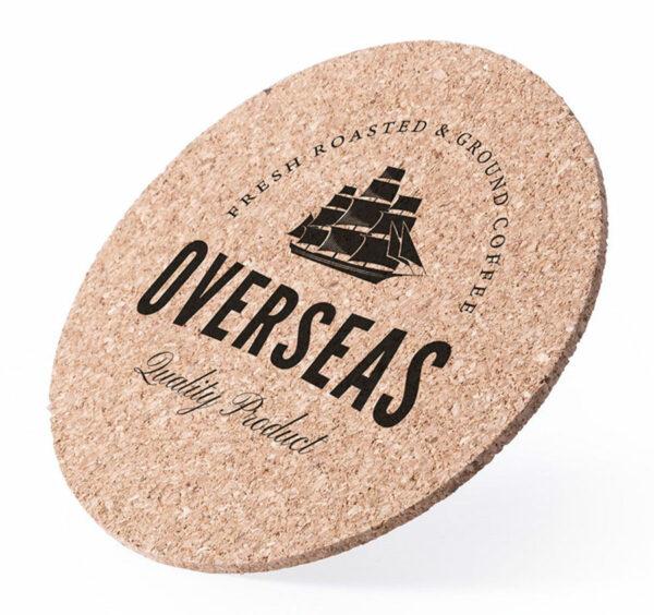 Branded Cork Coasters 1