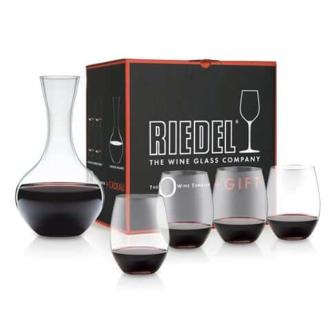 Riedel O Series Red Wine Tumbler With FREE Riedel Decanter 1